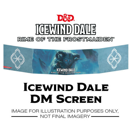 D&D 5th DM Screen Icewind Dale
