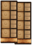 Gloomhaven Playmat Set 4-players (non-official)
