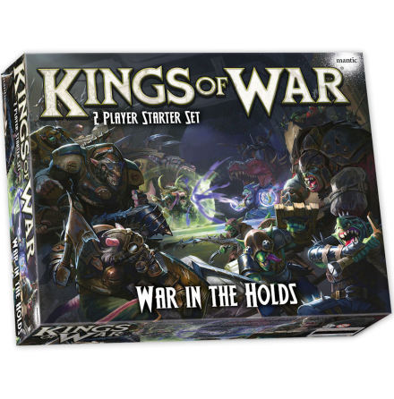 Kings of War: War in the Holds - Two Player Starter Set (Release oktober 2020)