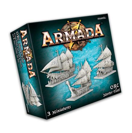KoW Armada: Orc Starter Fleet