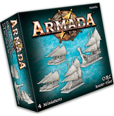 KoW Armada: Orc Booster Fleet