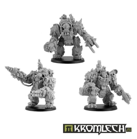 Juggernaut Mecha-Armour Squad