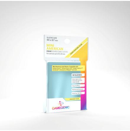 PRIME Mini American Sleeves (44x67 mm) 50 (Code Yellow)
