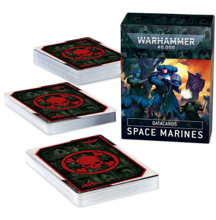 DATACARDS: SPACE MARINES (ENG, 2020)