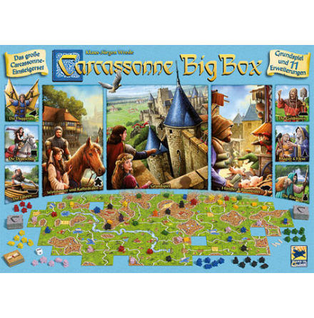 Carcassonne Big Box 6th ed 2020 (Scand)