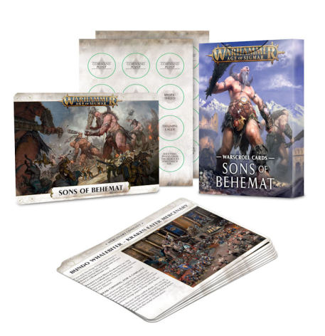 WARSCROLL CARDS: SONS OF BEHEMAT (ENG)