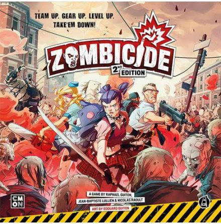 Zombicide 2nd Edition Core Box (Release Q1 2021)