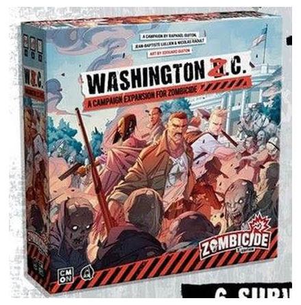Zombicide 2nd Edition Washington Z.C. Ex (Release Q1 2021)