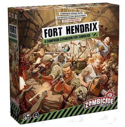 Zombicide 2nd Edition Fort Hendrix Expan (Release Q1 2021)