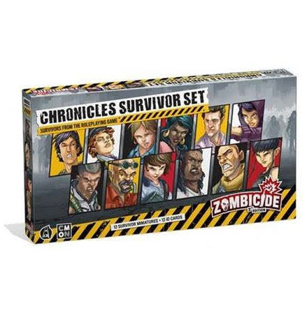Zombicide 2nd Edition Chronicles Survivo (Release Q1 2021)