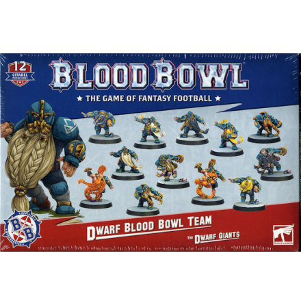 BLOOD BOWL: DWARF TEAM (2020)