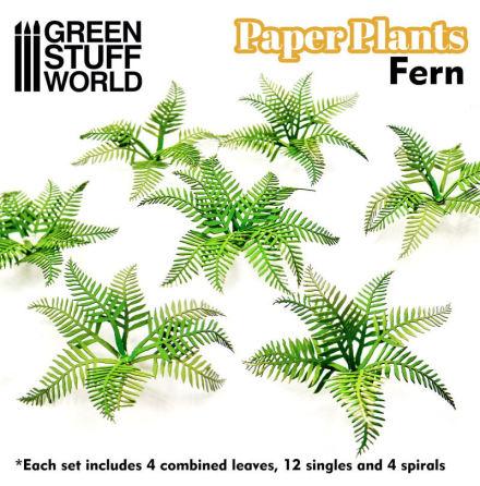 Paper Plants - Fern