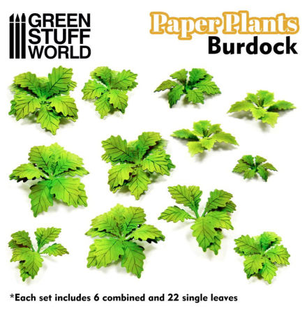 Paper Plants - Burdock