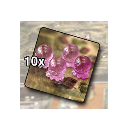 Crystal ball tokens (10)