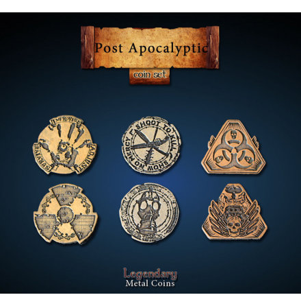 Post Apocalyptic Coin Set