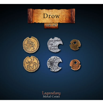 Drow Coin Set
