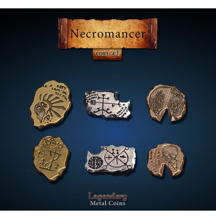 Necromancer Coin Set