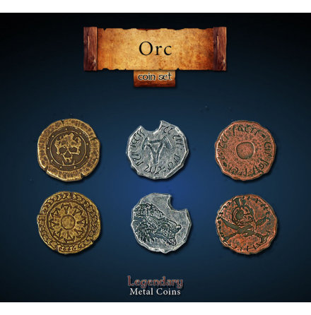 Orc Coin Set