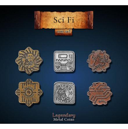 Sci-Fi Coin Set