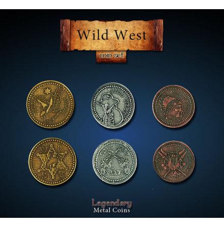 Wild West Coin Set