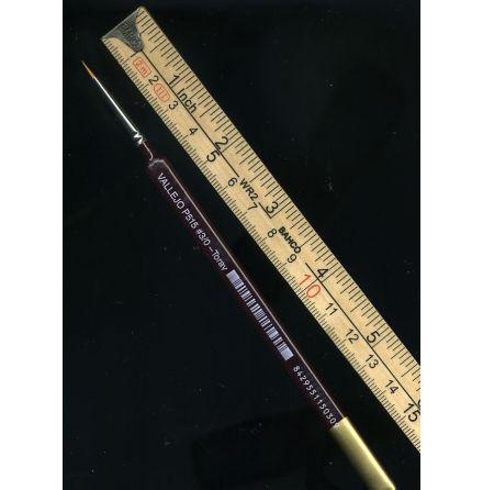 TRIANGULAR BRUSH 3/0 SYNTHETIC TORAY