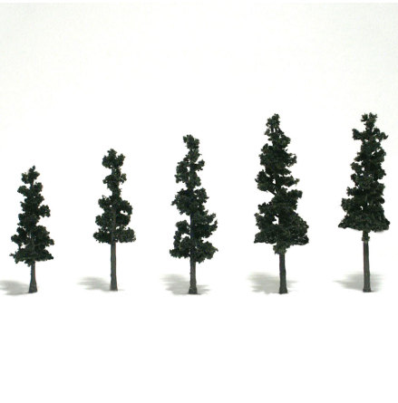 Conifer Pine Trees 2.5-4 inches (33)
