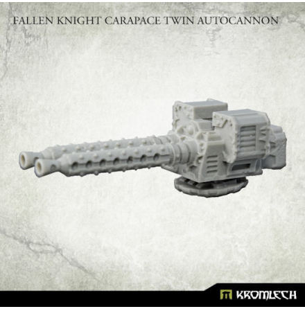 Fallen Knight Carapace Twin Autocannon