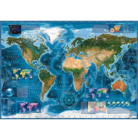 Satellite Map 2000 pieces