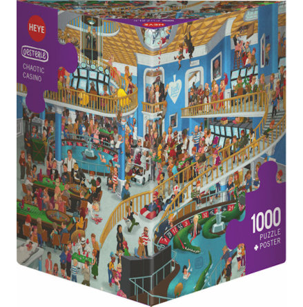 Oesterle: Chaotic Casino (1000 pieces triangular box)