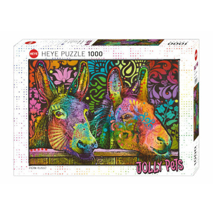 Jolly Pets: Donkey Love (1000 pieces)