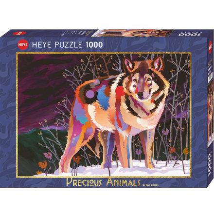 Precious Animals: Night Wolf (1000 pieces)