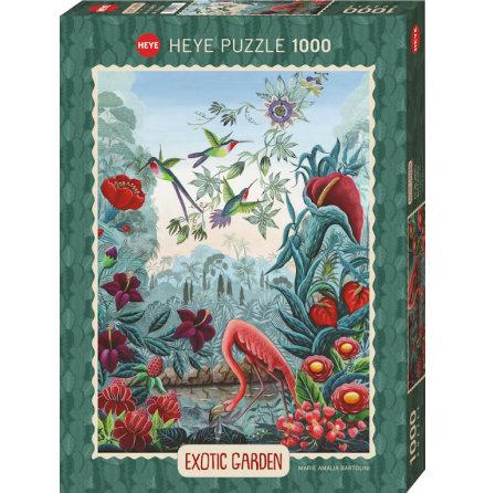 Exotic Garden: Bird Paradise (1000 pieces)
