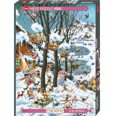 Paradise: In Winter (1000 pieces)