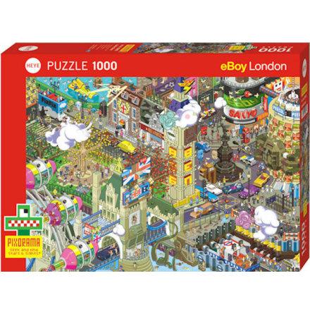eBoy London Quest Standard 1000 pieces