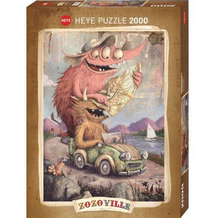 Zozoville Road Trippin 2000 pieces