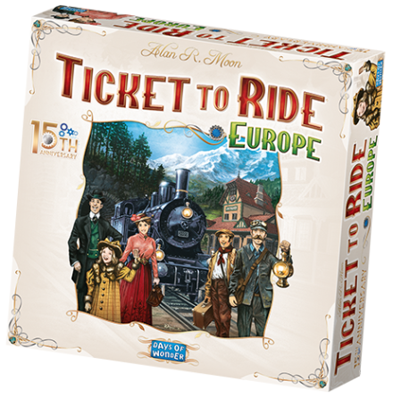 Ticket To Ride: Europe 15th Anniversary Ed. (Nordic)
