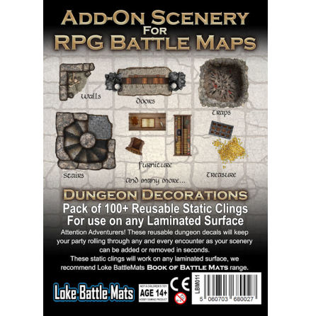 Add-On for RPG Maps Dungeon Decor
