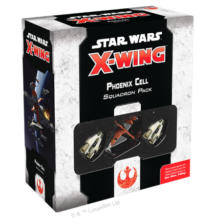 Star Wars X-Wing Phoenix Cell Squadron P