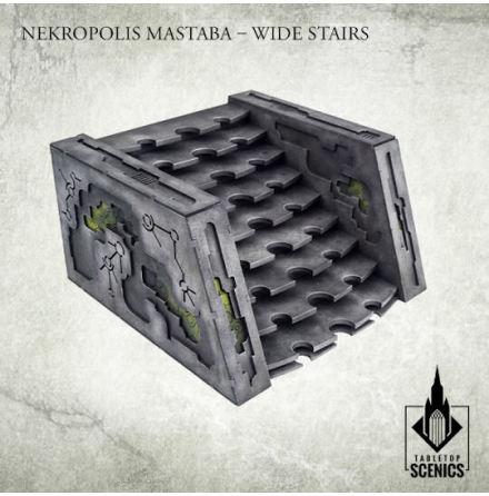 Nekropolis Mastaba – Wide Stairs