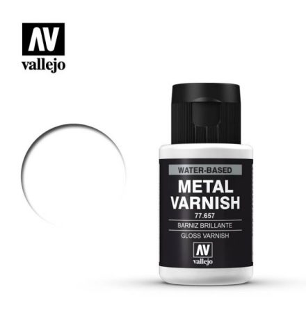 Gloss metal varnish (VALLEJO METAL COLOR)