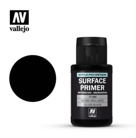 Gloss black primer (VALLEJO METAL COLOR)