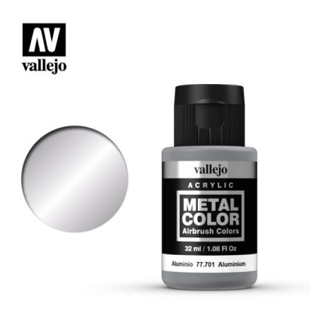 Aluminium (VALLEJO METAL COLOR)
