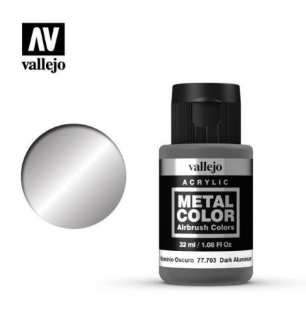 Dark Aluminium (VALLEJO METAL COLOR)