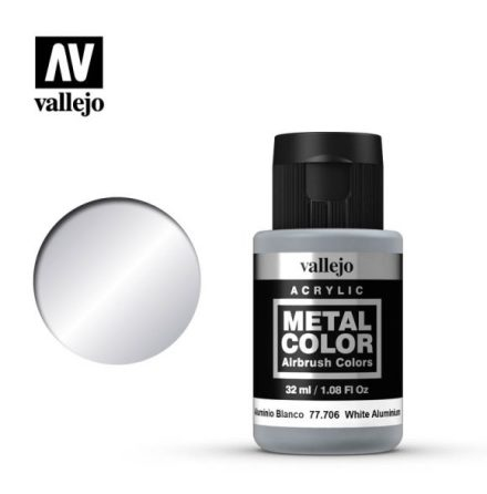 White Aluminium (VALLEJO METAL COLOR)