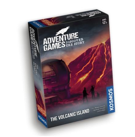 Adventure Games: The Volcanic Island (EN)