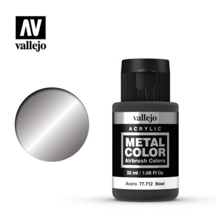 Steel (VALLEJO METAL COLOR) 32 ml