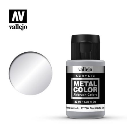 Semi matte Aluminium (VALLEJO METAL COLOR)