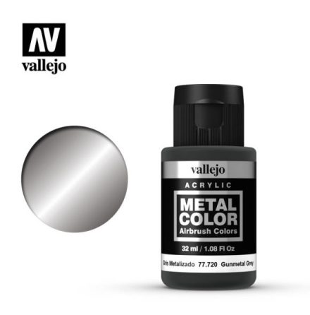 Gunmetal grey (VALLEJO METAL COLOR)