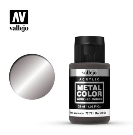 Burnt Iron (VALLEJO METAL COLOR)