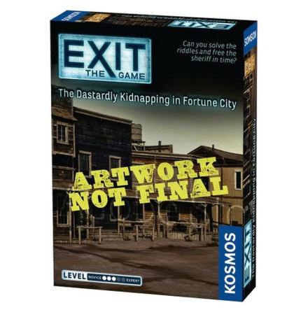 EXIT 17: Kidnapped in Fortune City (EN)